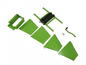 Zdrobitor de struguri manual 350KG, 25L, BULGARIA, Verde6