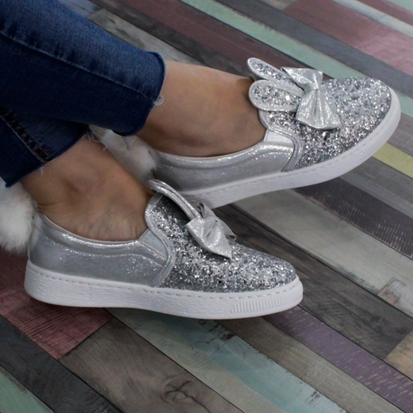 Adidasi Sweet Shoes Grey 0