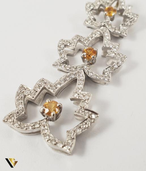 Pandantiv Aur 18k, Diamante cca. 0.59 ct total, 6.11 grame 1