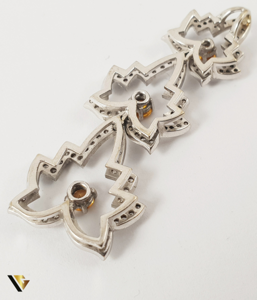 Pandantiv Aur 18k, Diamante cca. 0.59 ct total, 6.11 grame 2