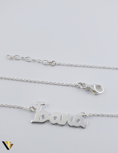 "Lant cu nume ,,Ioana'"", argint 925, 2.56 grame (R) [0]"