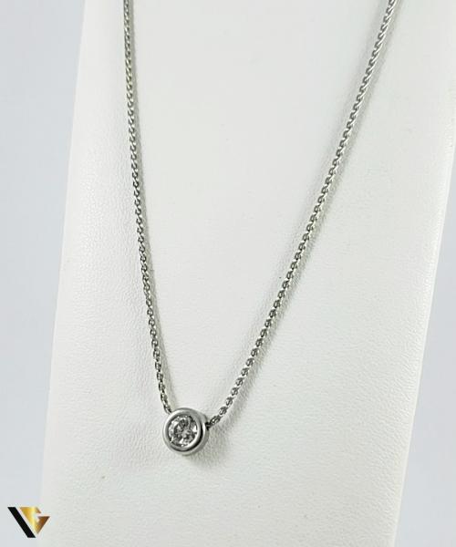 Colier Aur 18k, Diamant cca. 0.50 ct, 5.24 grame 0