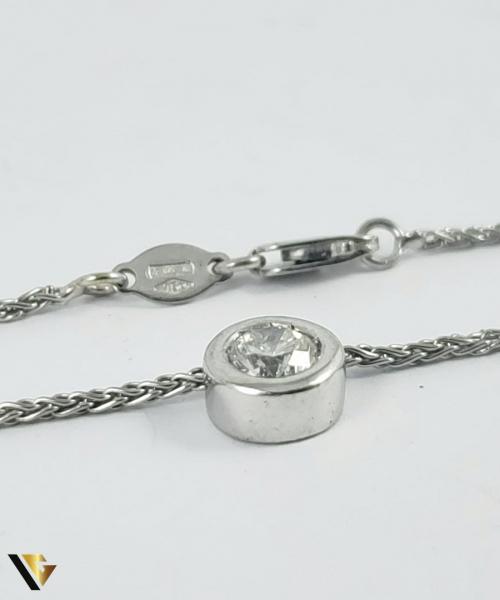 Colier Aur 18k, Diamant cca. 0.50 ct, 5.24 grame 1