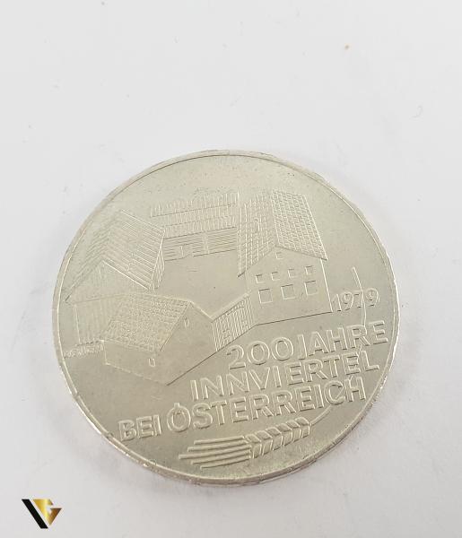 100 Schlling , Austria 1979, Argint 640, 24.08 grame 1
