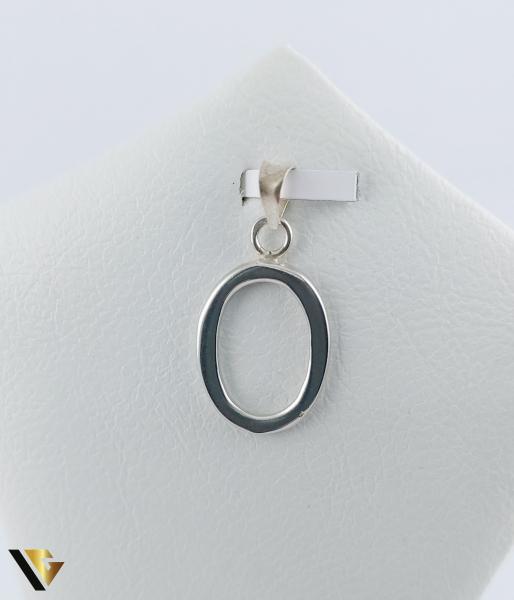 "Pandantiv Argint 925, Initiala ""O"", 1.53 grame (R) [0]"
