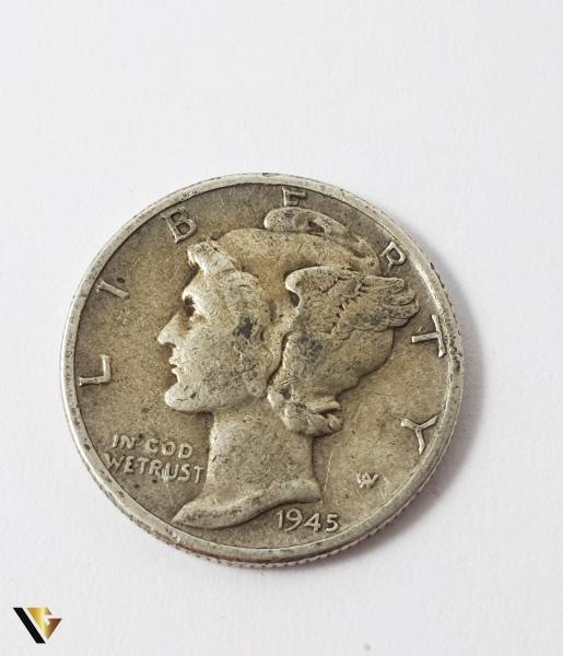 """1 Dime , """"Mercury Dime"""", U.S.A., Argint 900, 2.46 grame 0"""