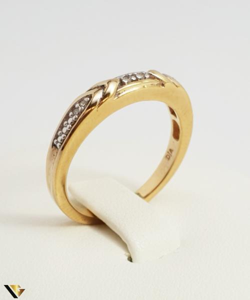 Inel Argint 925,Diamante,2.93 grame 2