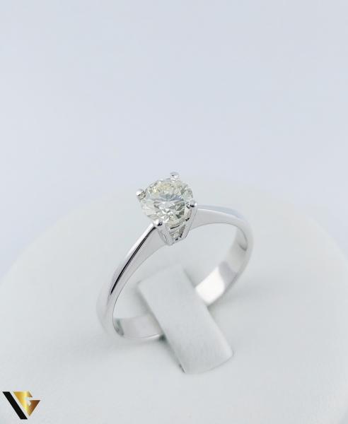 Inel logodna Aur 18k, Diamant cca. 0.70 ct, 4.04 grame 3