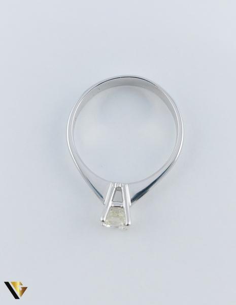Inel logodna Aur 18k, Diamant cca. 0.70 ct, 4.04 grame 4