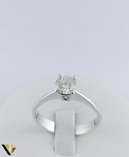 Inel logodna Aur 18k, Diamant cca. 0.70 ct, 4.04 grame 1