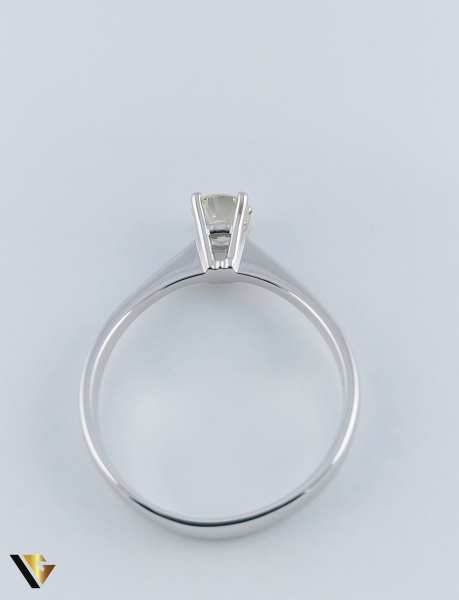 Inel logodna Aur 18k, Diamant cca. 0.70 ct, 4.04 grame 2