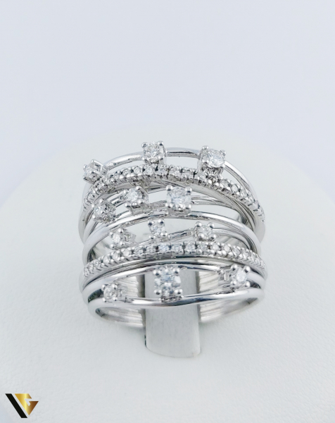 Inel Aur 18k, Diamante cca. 0.45 ct in total, 10.80 grame 2