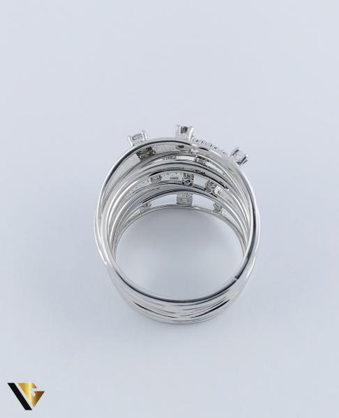 Inel Aur 18k, Diamante cca. 0.45 ct in total, 10.80 grame 4