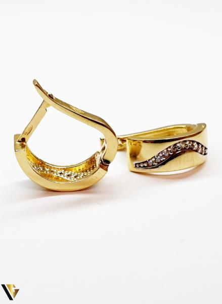 Cercei aur 14K  ,3.00 grame (BC M) 2