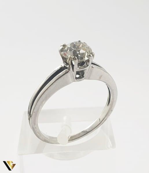 Inel Aur 18k, Diamant de cca 0.65 ct, 2.74 grame 0