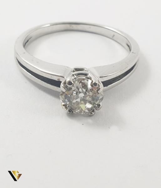 Inel Aur 18k, Diamant de cca 0.65 ct, 2.74 grame 1