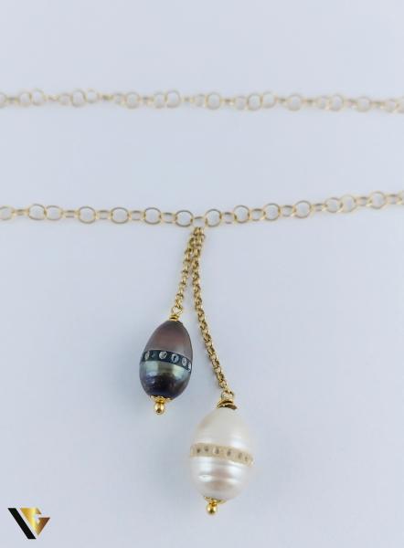 Colier Aur 18k, Perla, 6.61 grame (R) 1