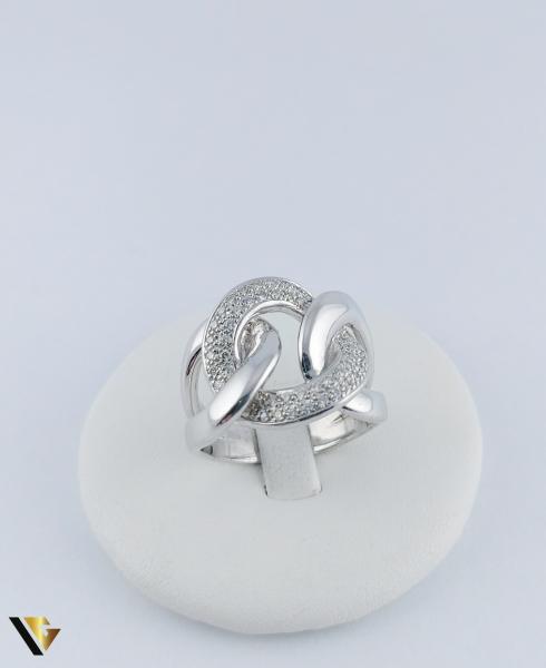Inel Aur 14k, Diamante de cca. 0.40 ct in total, 16.95 grame, 250 Lei/gr 1