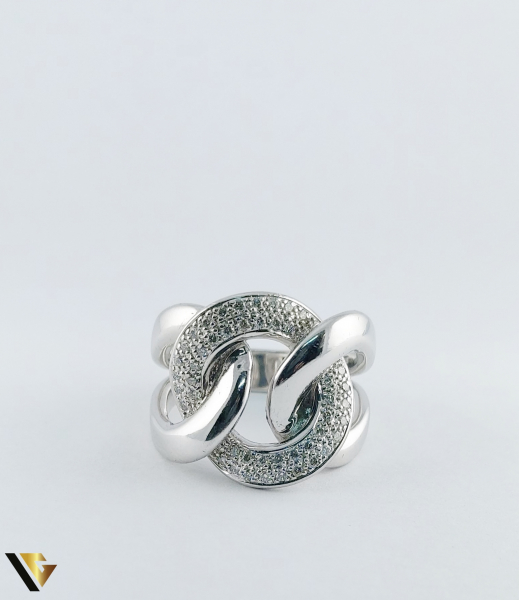 Inel Aur 14k, Diamante de cca. 0.40 ct in total, 16.95 grame, 250 Lei/gr 3
