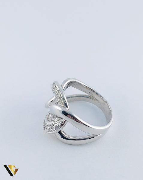 Inel Aur 14k, Diamante de cca. 0.40 ct in total, 16.95 grame, 250 Lei/gr 4