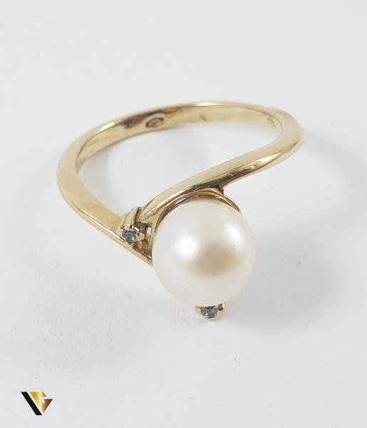 Inel Aur 14k, Perla, 2.92 grame (P) 1