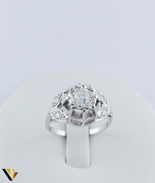 Inel Aur 10k, Diamant de cca. 0.30 ct, 3.86 grame 1
