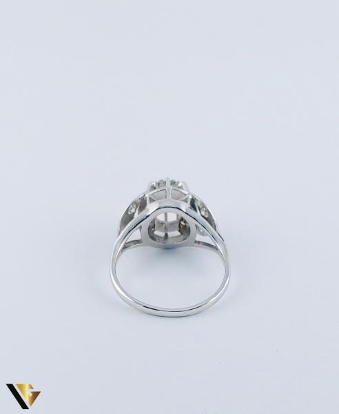 Inel Aur 10k, Diamant de cca. 0.30 ct, 3.86 grame 3