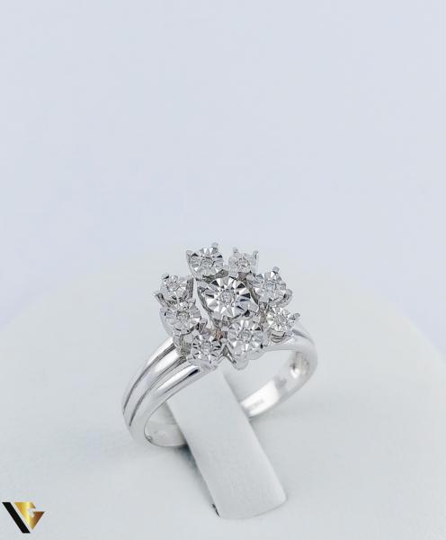 Inel Aur 18k, Diamante, 4.14 grame (TG) 0
