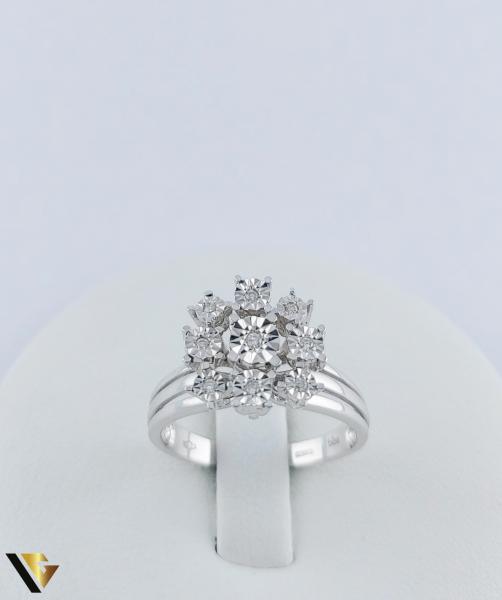 Inel Aur 18k, Diamante, 4.14 grame (TG) 1