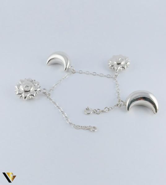 Bratara Argint 925, Luna, Soare, 12.38 grame (PD) [1]