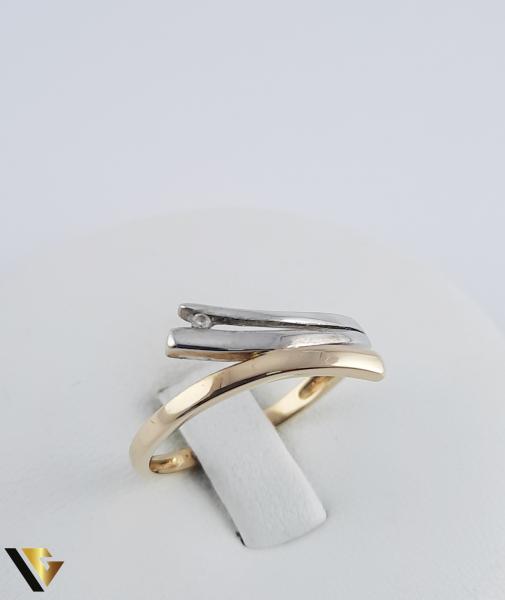 Inel Aur 18k, Diamant, 2.06 grame (R) 0
