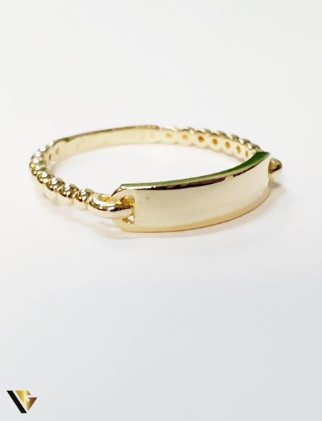 Inel din aur 14k , 1.70 grame (BC M) 1