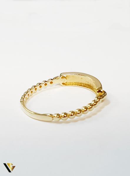 Inel din aur 14k , 1.70 grame (BC M) 2