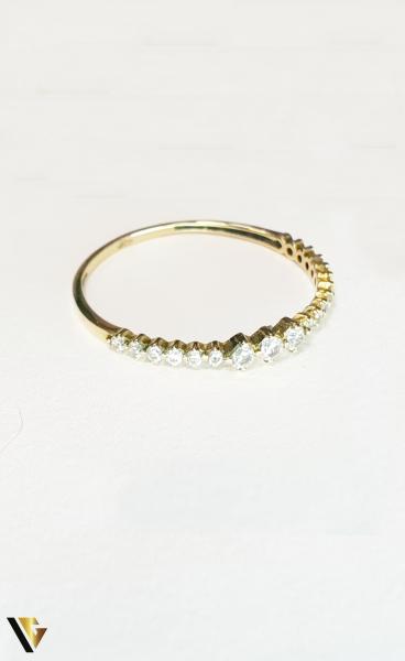 Inel din aur 18k,0.82 grame (BC M) 1