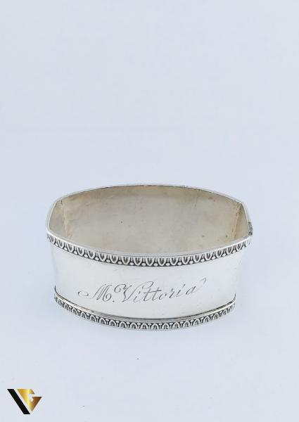 Inel pentru servetele din argint 800, 28.24 grame 1