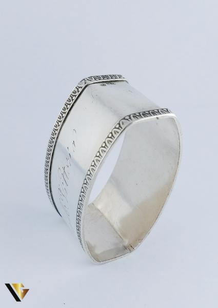 Inel pentru servetele din argint 800, 28.24 grame 2