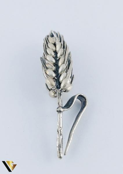 Miniatura din Argint 800, Spic de grau,  9.88 grame 2