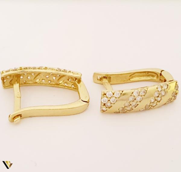 Cercei aur 14K ,2.40 grame (BC M) [0]