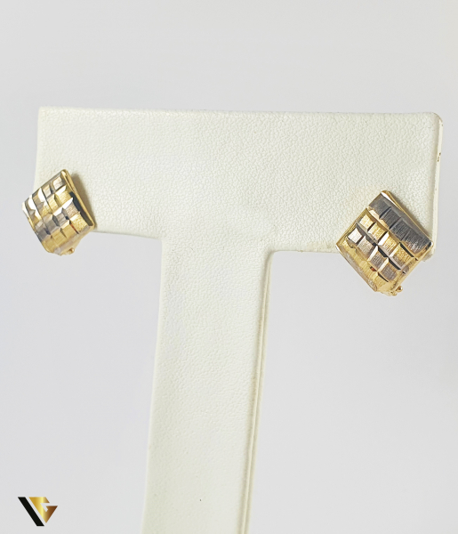 Cercei Aur 14k, 1.77 grame (P) 0