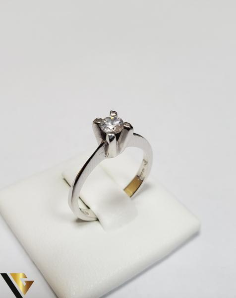 Inel Aur 18K, Zirconiu, 3.62 grame (IS) 0