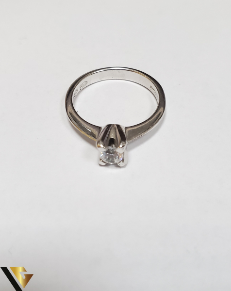 Inel Aur 18K, Zirconiu, 3.62 grame (IS) 2