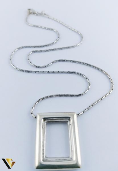 Lant cu Pandantiv Argint 925, 9.01 grame (R) 1