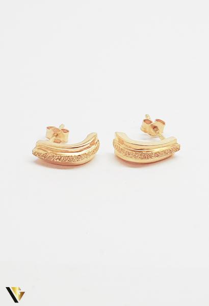 Cercei aur 18K ,3.15 grame (BC M) 0