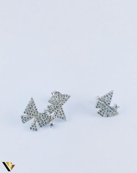 Cercei argint 925, Fluturi, 2.40 grame (R) 0