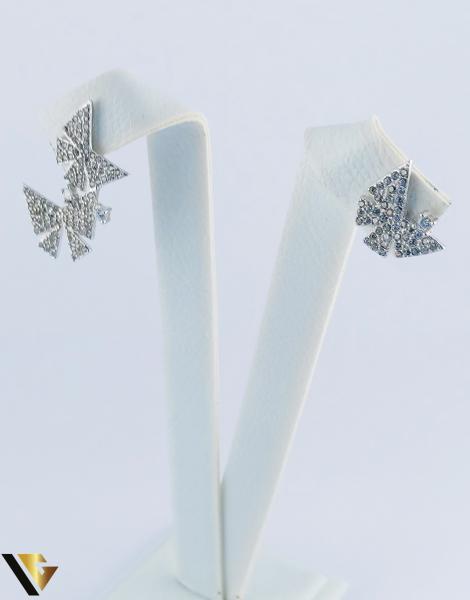 Cercei argint 925, Fluturi, 2.40 grame (R) 3