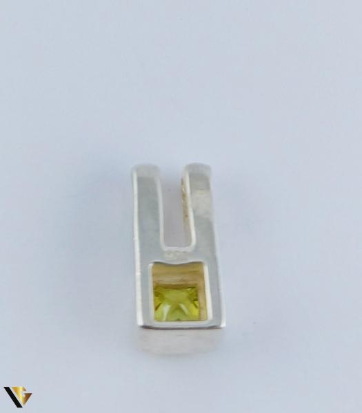 Pandantiv Argint 925, Peridot, 2.96 grame (R) 1