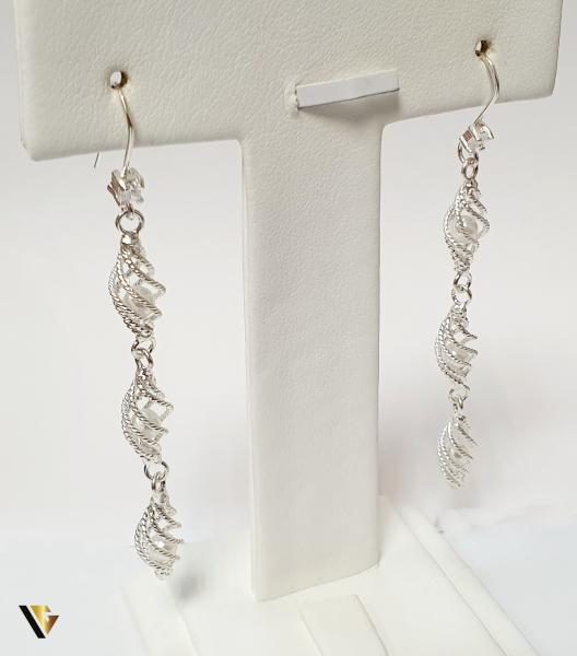 Cercei din argint , 4.86 grame (BC M) 0
