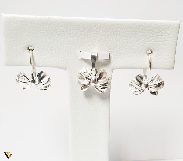 Set Argint Cercei si Pandantiv , 4.17 grame (BC M) 1