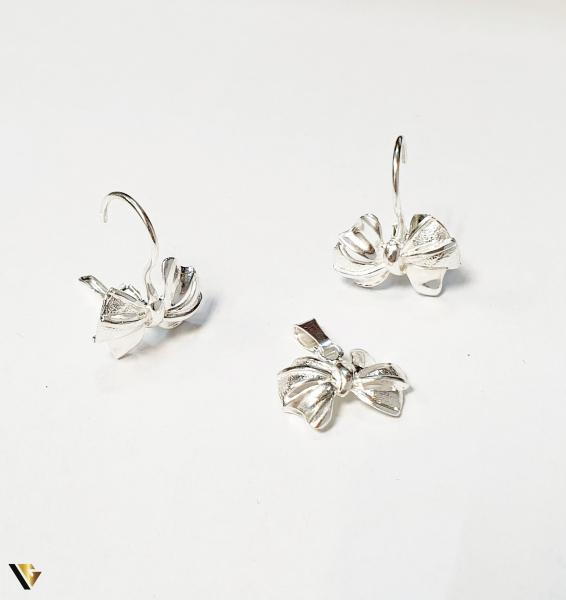 Set Argint Cercei si Pandantiv , 4.17 grame (BC M) 0