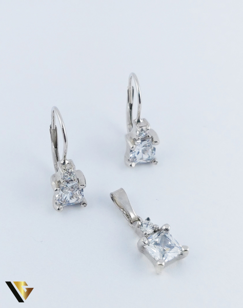 Set Argint Cercei si Pandantiv, 5.52 grame (R) [0]